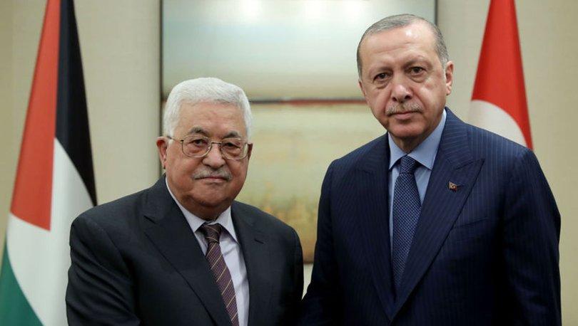 ÖNEMLİ MESAJ! Son dakika: Cumhurbaşkanı Erdoğan ve Filistin Devlet Başkanı buluştu!
