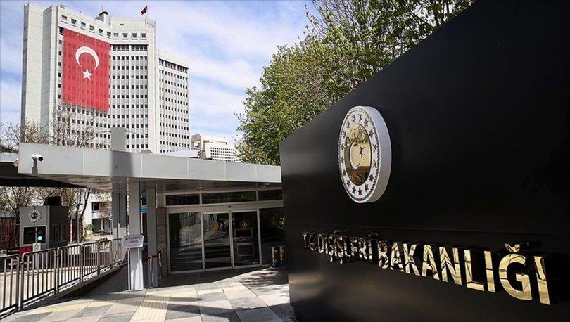 Dışişleri Bakanlığı'ndan Türk azınlığının haklarını tanıması için Yunanistan'a çağrı