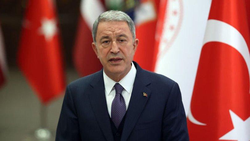 SON DAKİKA: Milli Savunma Bakanı Hulusi Akar'dan Yunan mevkidaşına tepki!
