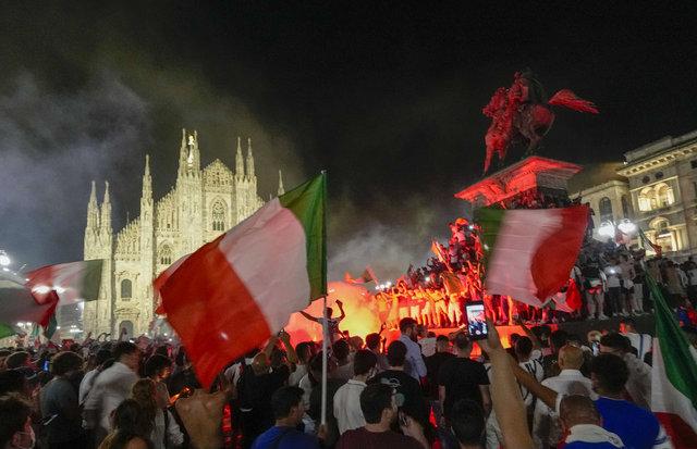 İtalya'da şampiyonluk sevinci