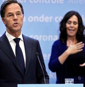 Hollanda Başbakanı Mark Rutte, 26 Haziran