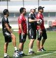 Beşiktaş, yeni sezon hazırlıklarına bu sabah yaptığı antrenmanla devam etti.