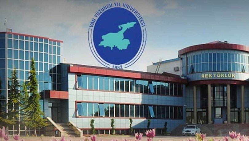 Van Yüzüncü Yıl Üniversitesi personel alımı 2021: Van Yüzüncü Yıl Üniversitesi personel alımı başvuru şartları