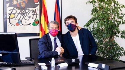 Resmen Barcelona'da