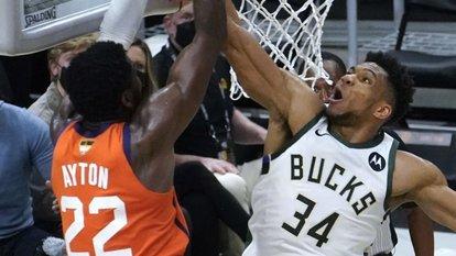 Bucks, durumu 2-2 yaptı
