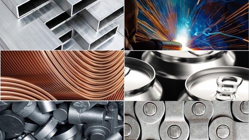 Demir ve demir dışı metaller sektöründen ilk yarıda 5.7 milyar dolar ihracat