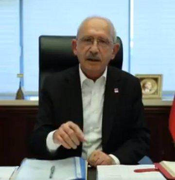 CHP Genel Başkanı Kemal Kılıçdaroğlu, sosyal medyadan yaptığı paylaşımda,