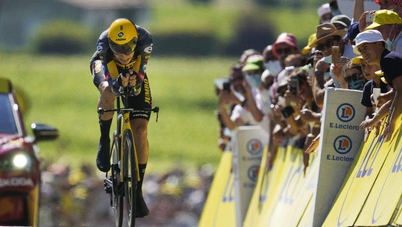 Tour de France'ın 20. etabını Van Aert kazandı