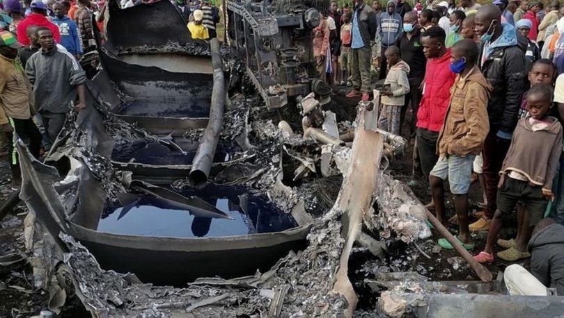 Kenya'da akaryakıt tankeri patladı: 13 kişi hayatını kaybetti