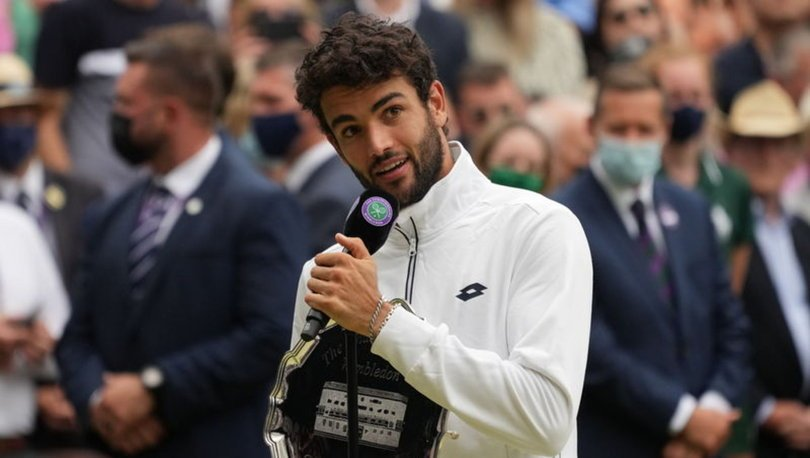 İtalyan tenisçi Matteo Berrettini Tokyo 2020'ye katılamayacak