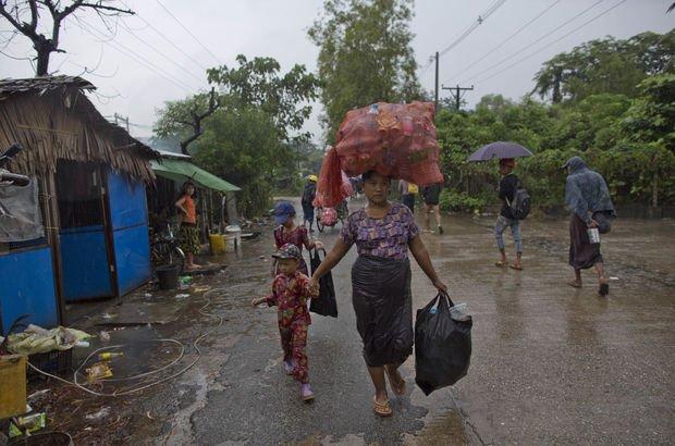 Japonya'dan Myanmar'a yardım