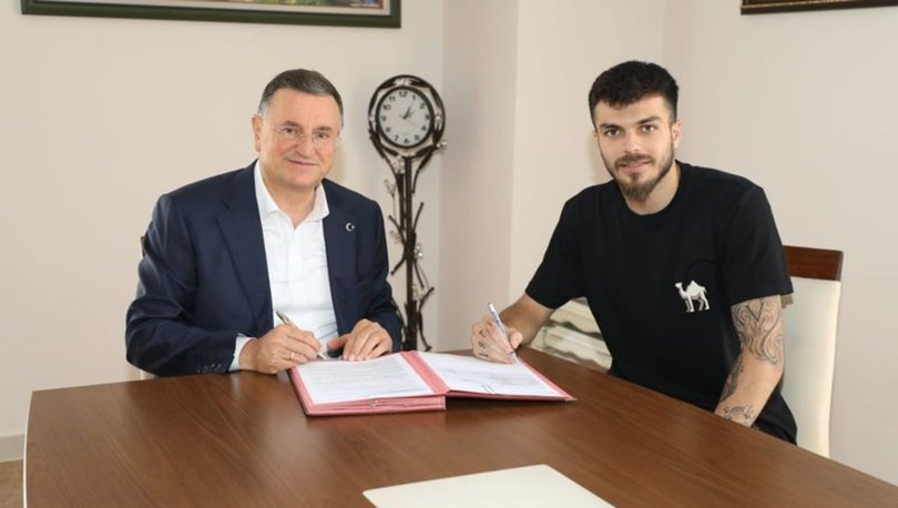 Hatayspor'un yeni transferi kaleci Abdullah Yiğiter: İdolüm babam
