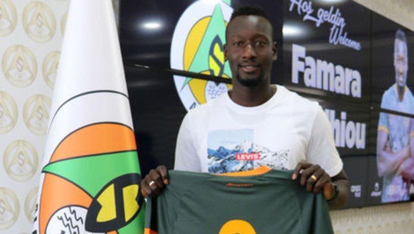 Alanyaspor, Senegalli Famara Diedhiou'yu transfer etti