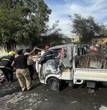 Irak'ın başkenti Bağdat'ta bir halk pazarında patlama meydana geldi. İlk belirlemelere göre 22 kişinin öldüğü 47 kişinin yaralandığı bildirildi.