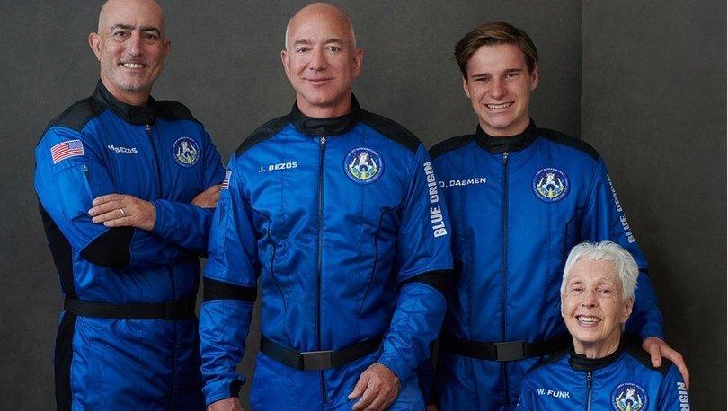 Milyarder işadamı Jeff Bezos bugün uzaya fırlatılacak - Haberler