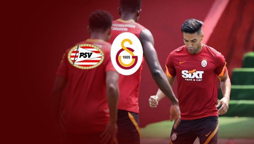 Galatasaray, PSV Eindhoven'e konuk olacak
