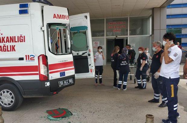 Yakınları vuruldu, onlar ambulansa saldırdı!