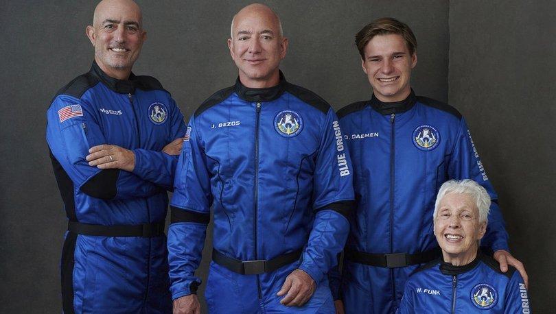 DUYURULDU! Son Dakika: Jeff Bezos ve ekibi de uzaya gitti! - Haberler