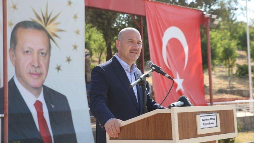 İçişleri Bakanı Süleyman Soylu: Yürüyerek Irak'a gideceğimiz, Suriye'ye gideceğimiz günler yakın