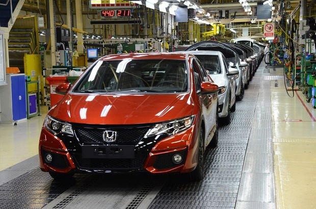 Honda'dan Japonya'da üretime 'çip' arası