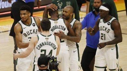 NBA'da şampiyon Milwaukee Bucks!