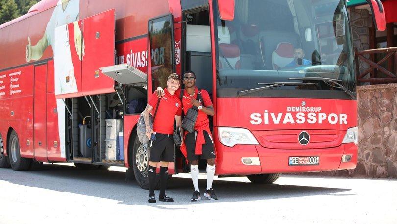 Sivasspor'da Petrocub maçı kadrosu açıklandı