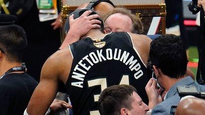 MVP Antetokounmpo!