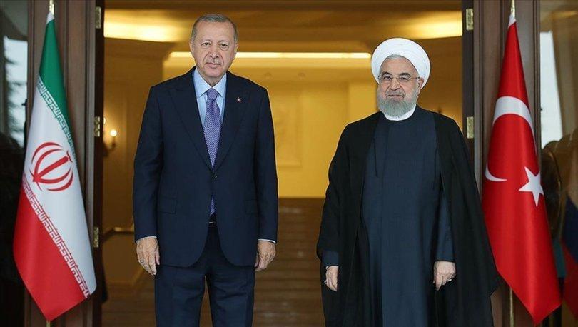 Cumhurbaşkanı Erdoğan ve İran Cumhurbaşkanı arasında telefon görüşmesi