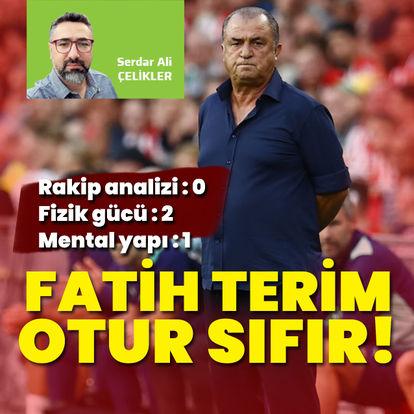 Serdar Ali Çelikler: Fatih Terim, otur sıfır