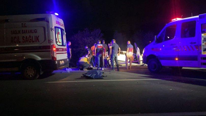 Afyonkarahisar'da zincirleme kaza: 2'si çocuk 4 ölü, 2 yaralı