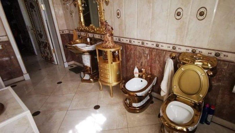 Rusya'da rüşvet operasyonu: Trafik polisinin evinden altın kaplama tuvalet çıktı! - Haberler