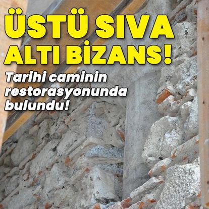 Üstü sıva altı Bizans!