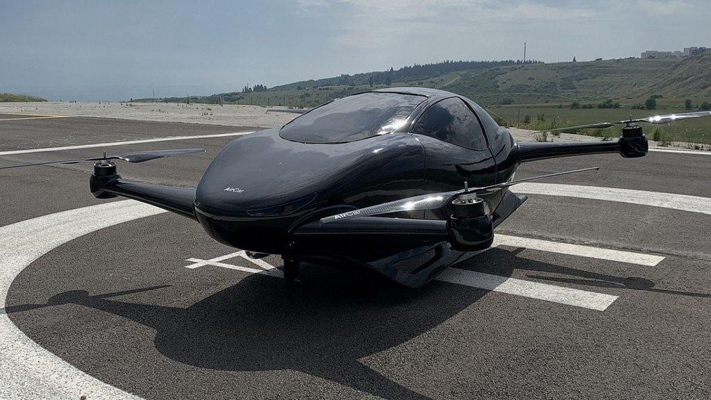 İşte yerli uçan araba AirCar!