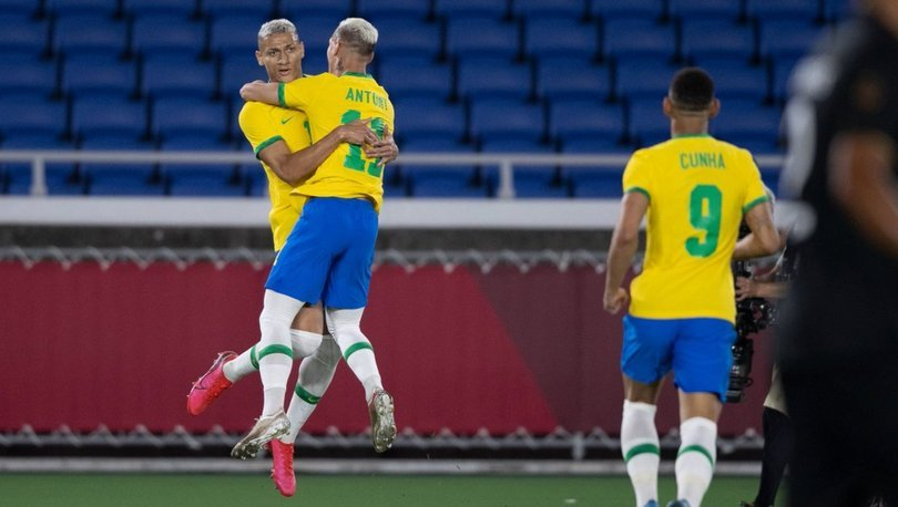 Richarlison yıldızlaştı, Brezilya 4 golle kazandı