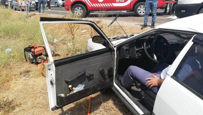 Malatya'da iki otomobil çarpıştı: 2 ölü, 3 yaralı