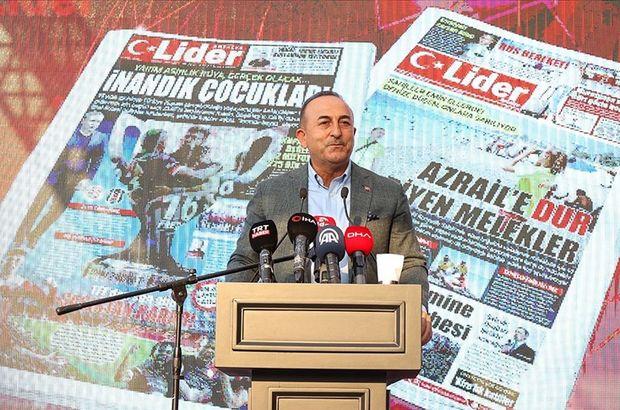 Bakan Çavuşoğlu'ndan KKTC açıklaması