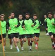 TFF 1st League team Bursaspor performed the first training of the Bolu camp, which will last for 10 days, in the evening.