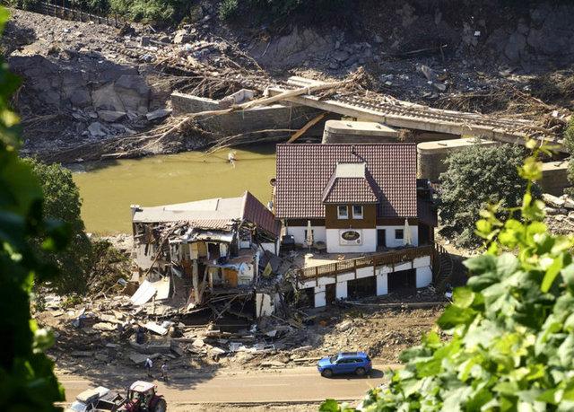 SON DAKİKA: Almanya'da sel felaketinde acı bilanço! 176 kişi hayatını kaybetti