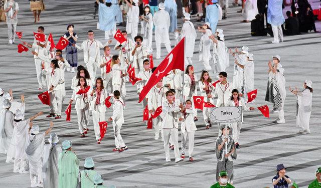 Tokyo 2020 açılış töreni (seremoniden görüntüler)