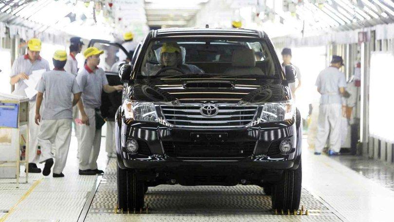 Toyota'dan üretime 'çip' arası