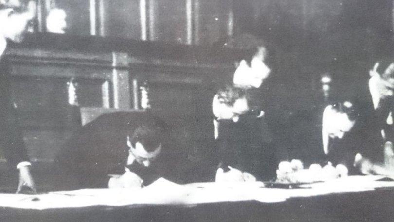 LOZAN ANTLAŞMASI... Son dakika: 98 yıl önce bugün imzalar atıldı