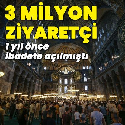 3 milyon ziyaretçi