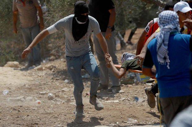 Batı Şeria'da tansiyon yükseldi: 64 yaralı