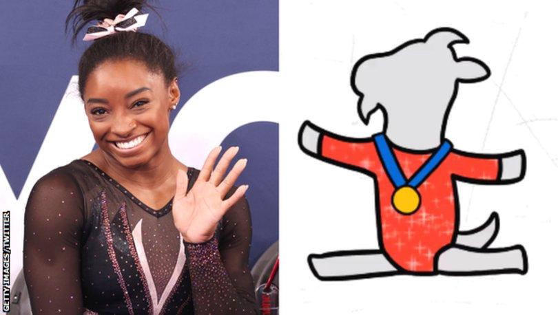 Tokyo Olimpiyatları: Yıldız cimnastikçi Simone Biles, kendi emojisi olan ilk kadın atlet oldu