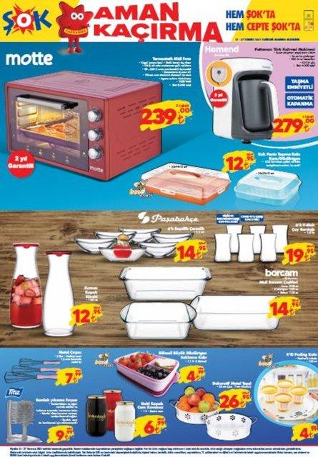 24-27 Temmuz 2021 ŞOK aktüel ürünler kataloğu: ŞOK aktüel bu hafta neler var? ŞOK market haftanın fırsatları