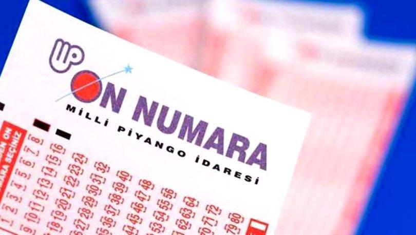 On Numara sonuçları 24 Temmuz 2021 - Milli Piyango On Numara çekilişi sorgulama ekranı
