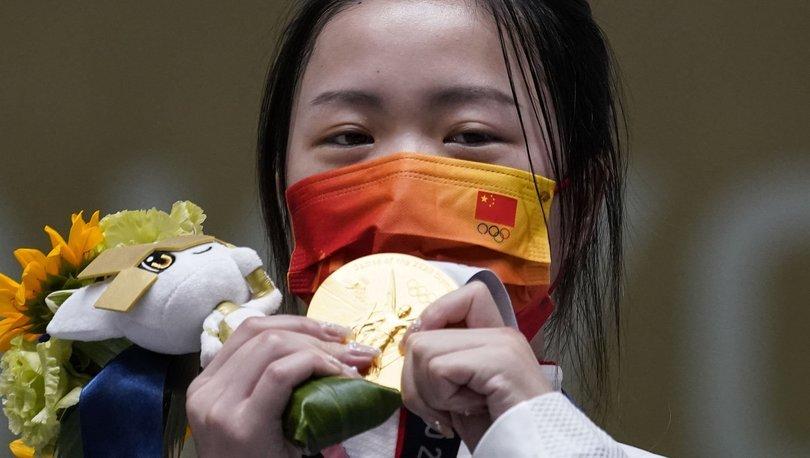 Tokyo 2020'de ilk altın madalya Qian Yang'ın