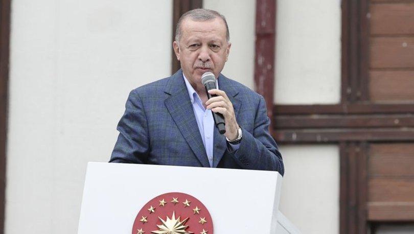 Son dakika haberi Cumhurbaşkanı Erdoğan'dan Ayasofya mesajı