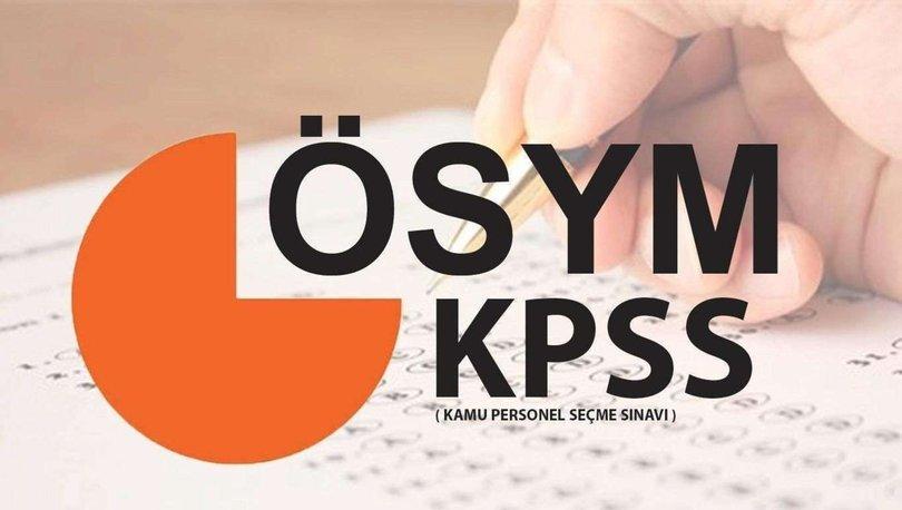 KPSS sınav giriş yerleri açıklandı mı?  2021 KPSS sınav giriş yerleri sorgulama ekranı hakkında