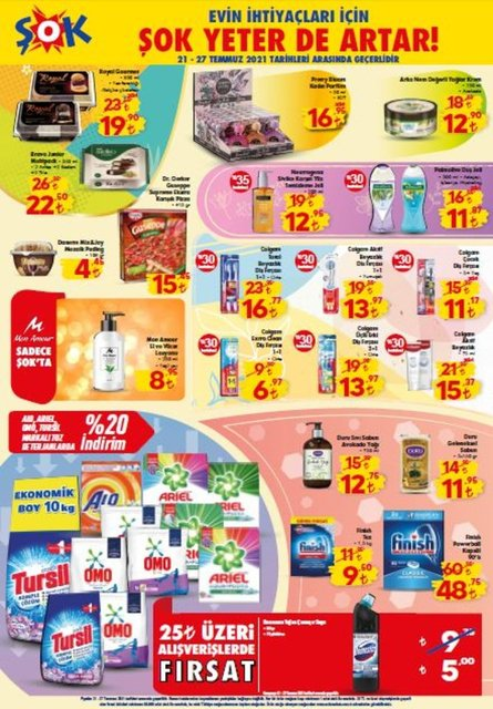 ŞOK aktüel ürünler kataloğu: 24-27 Temmuz 2021 ŞOK aktüel bu hafta neler var? ŞOK market haftanın fırsatları